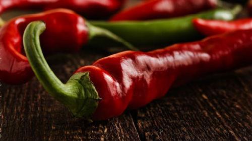 горький красный перец