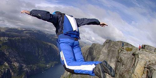 к чему снится прыгать с высоты вниз