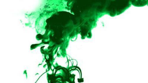зеленый цвет краски