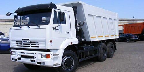 белый грузовик
