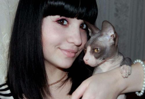к чему снится кошка девушке