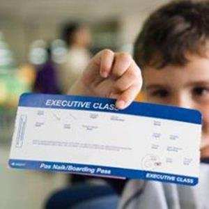 Отдать ребенку билет