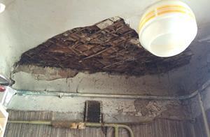 Потрескавшийся потолок