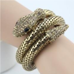 Браслет в виде змеи на руку