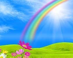 К чему снится радуга?
