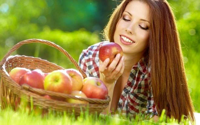 кушать яблоки во сне