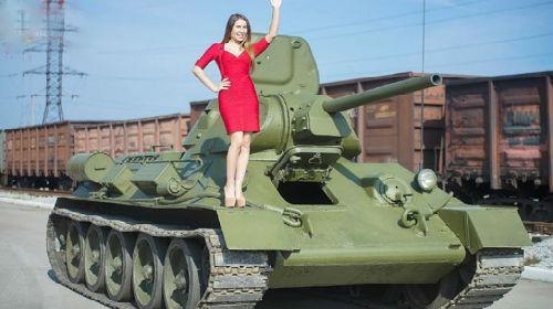 ездить на танке