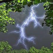К чему снится молния, которая ударила в землю?