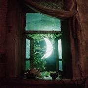 Месяц в окне