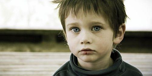 бедный ребенок