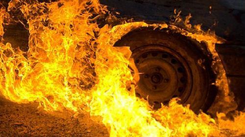 сонник сгорела машина