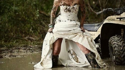 порвать красивое платье