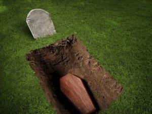 Раскопанный гроб во сне
