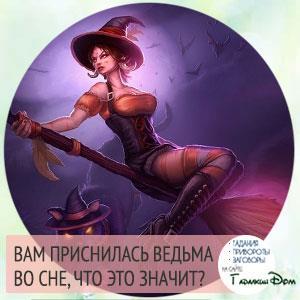 ведьма на метле во сне