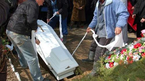 похороны усобшего