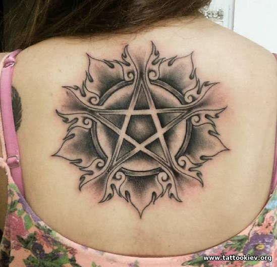 Значение татуировки пентаграмма