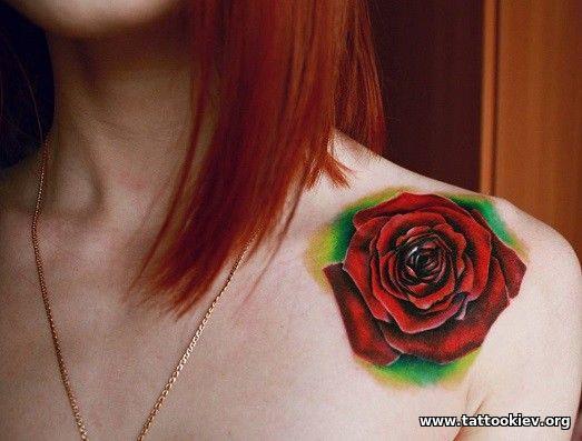 История и значение татуировки роза