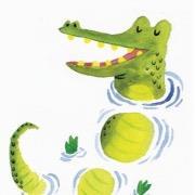 Крокодил рисунок
