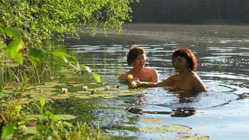 к чему снится плавать в пруду