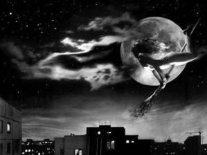 Ночной полет на метле
