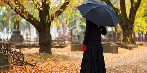 к чему снится ходить по кладбищу