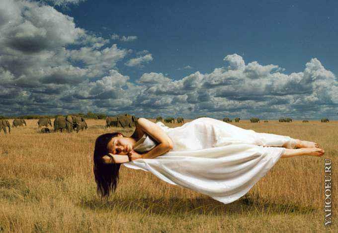 Самые яркие сновидения приходят к нам во время быстрого сна.